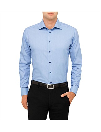 Square Geo Print Slim Fit Shirt