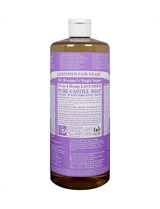 Liquid Castile Soap 946ml - Lavender