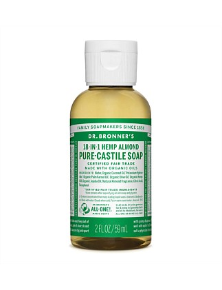 Liquid Castile Soap 59ml - Almond
