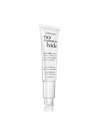 No Reason To Hide Tinted Moisturizer