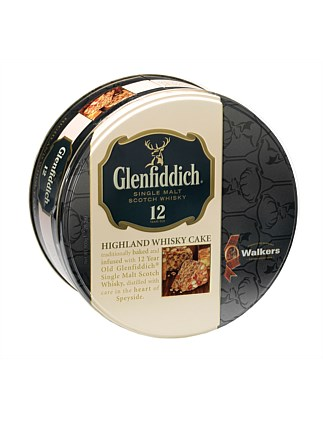 Glenfiddich Whiskey Cake Tin 800g