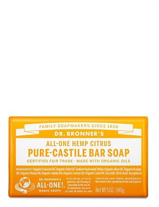 Bar Soap 140g - Citrus Orange