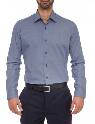 Jacob Extra Slim Fit - Pure Cotton Print Shirt