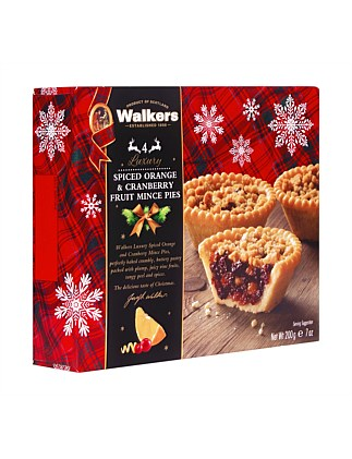 Orange & Cranberry Mince Pies 200G