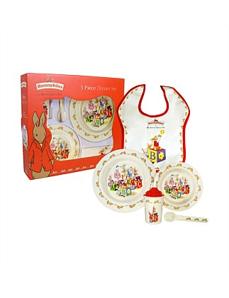 Five Piece Dinner Set Assorted