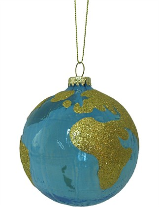 Globe Christmas Tree Bauble