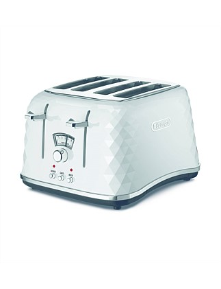 CTJ4003W Brilliante 4 Slice Toaster White