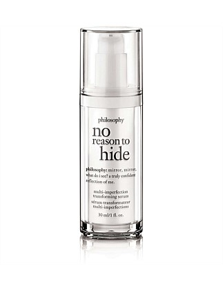 No Reason To Hide Serum