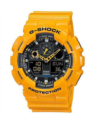 G-Shock Duo Yellow Case With Black Face