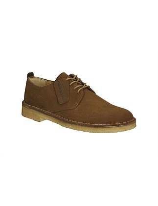 Desert London Leather Derby With Crepe Sole