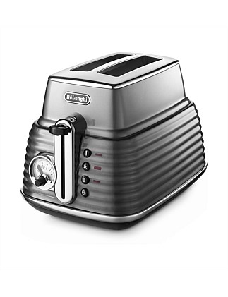 CTZ2003GY Scultura 2 Slice Toaster Steel Grey~