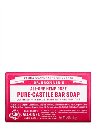 Bar Soap 140g - Rose