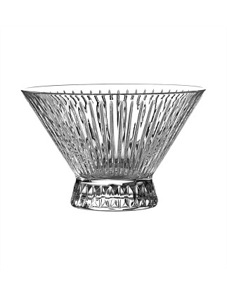 Manhattan Crystal Bowl 23cm