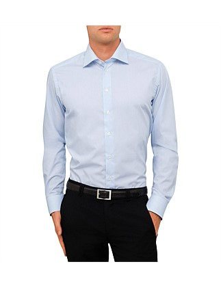 Fine Stripe Shirt Slim Fit