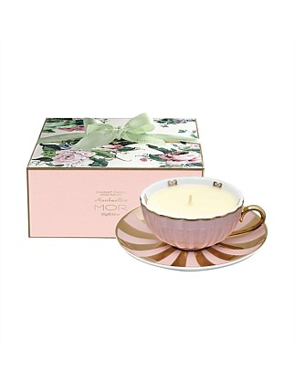 Fragrant Tea Cup Candle 165g Marshmallow