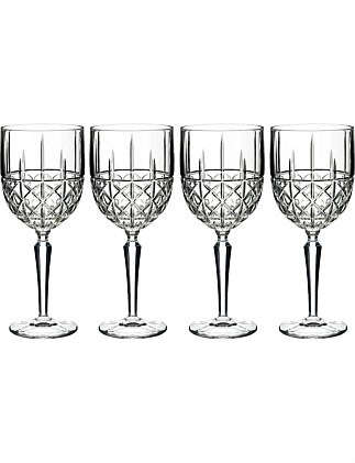 Marquis by Waterford Brady Wine Set of 4