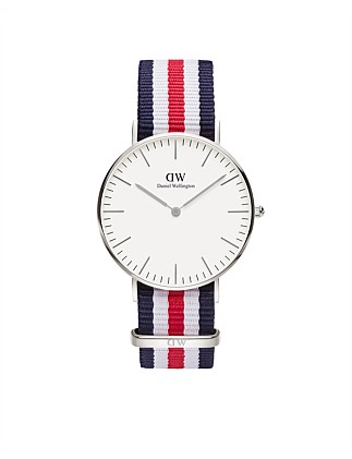 Classic Canterbury 36mm S White Dial Watch