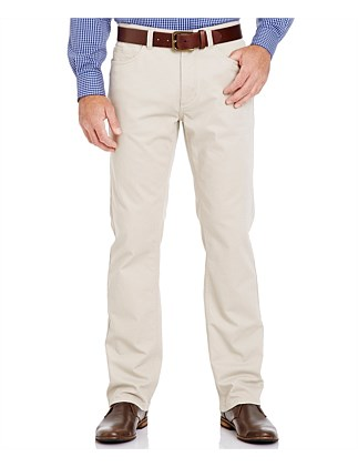 Stretch Bedford Cord Cas Trouser