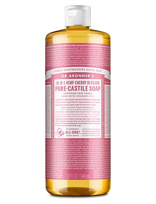 Liquid Castile Soap 946ml - Cherry Blossom