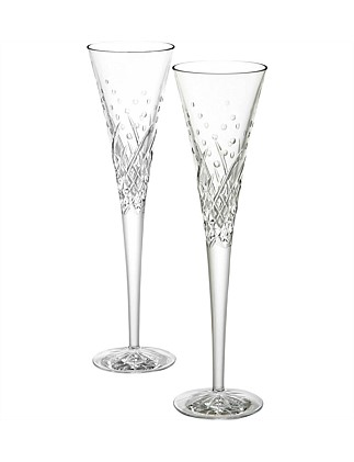 Celebration Flutes Happy Pair