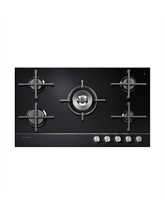 Fisher & Paykel CG905DNGGB1 5 Burner Natural Gas Cooktop