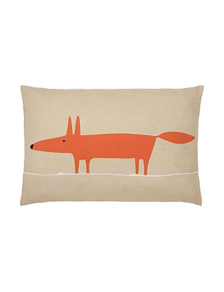 Mr Fox Cushion Taupe