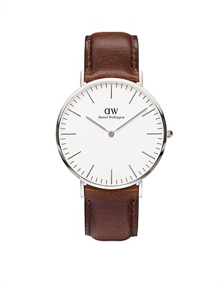 Classic Bristol 40mm S White Dial Watch