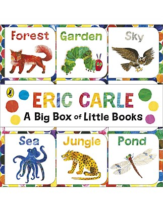 World Of Eric Carle Big Box of Little Books