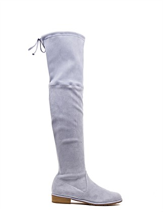 Lowland Flat Over The Knee Boot