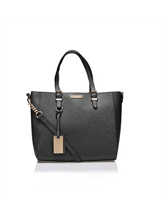 Carvela Dina Winged Tote Grey