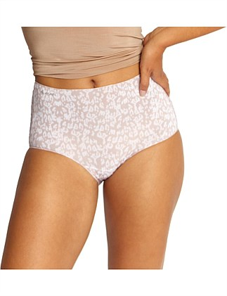 NO PANTY LINE PROMISE TACTEL PRINT FULL BRIEF