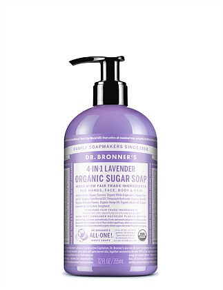 Organic Pump Soap 355ml - Lavender