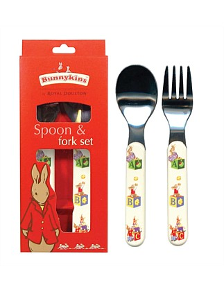 Abc Design Fork and Spoon Set