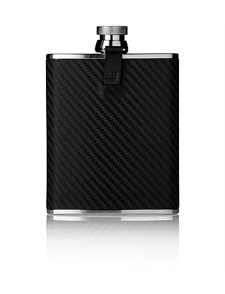Chassis Leather Hip Flask