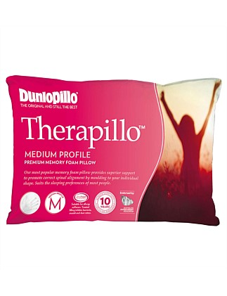 Therapillo Medium Profile Memory Foam Pillow