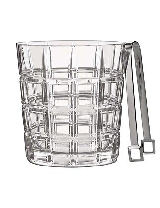 Marquis Crosby Barware Ice Bucket/Tongs