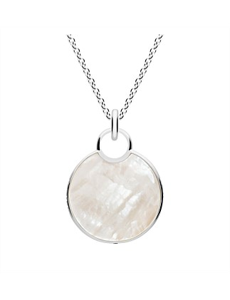 Reflection Mother of Pearl Pendant, Small