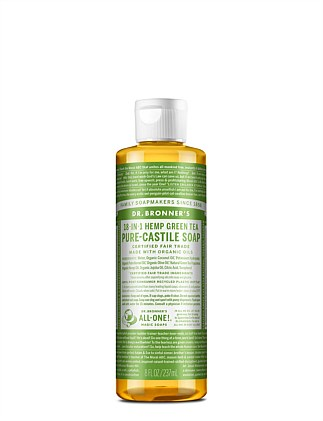 Liquid Castile Soap 237ml - Green Tea
