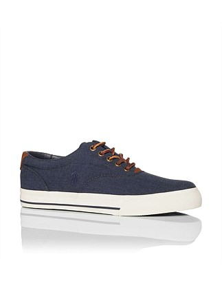 Vaughn Leather Trim Low Sneaker