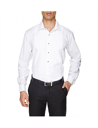 Regular Fit Marcella Peak Collar Stud Front Dinner Shirt