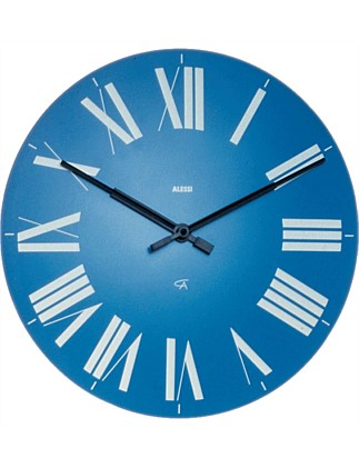 Firenze Wall Clock Blue