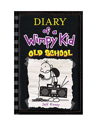 Old School - Diary of a Wimpy Kid Book 10 - Hardback