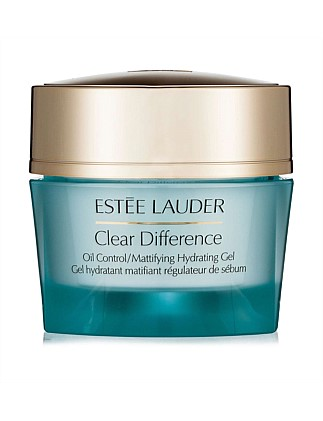 Clear Difference Oil-Control/Mattifying Hydrating Gel