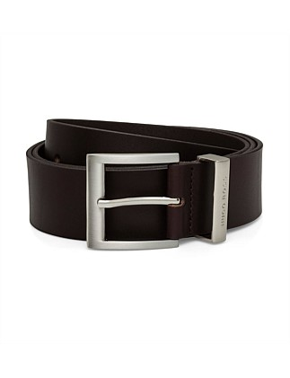 Bud Leather Pin Buckle Belt