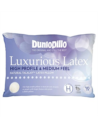 Luxurious Lates High Profile & Medium Feel Latex Pillow