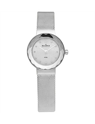 Silver Tone Stainless Steel Watch