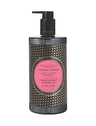 Hand & Body Wash 500ml  Lychee Flower