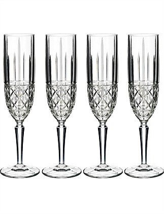 Marquis by Waterford Brady Flute Set of 4