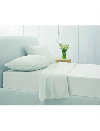 Superfine Twill King Bed Fitted Sheet