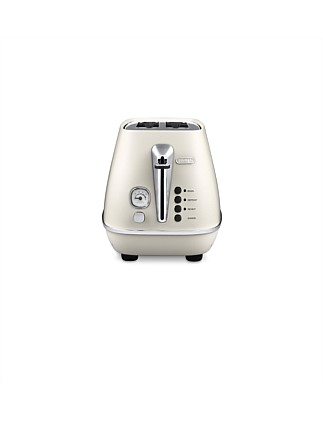 Distinta 2-Slice Toaster in White CTI2003W